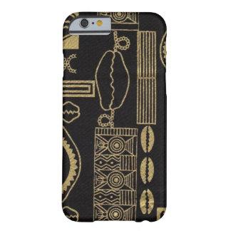 Caso del iPhone 6 del paño del fango del Mar Negro Funda De iPhone 6 Barely There