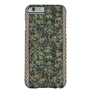 Caso del iPhone 6 del papel pintado del bosque del Funda De iPhone 6 Barely There