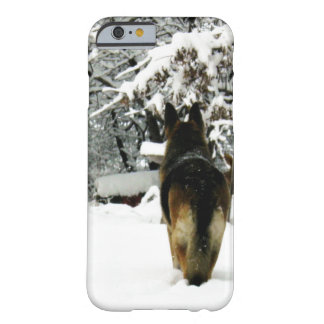 Caso del iPhone 6 del pastor alemán Funda Barely There iPhone 6