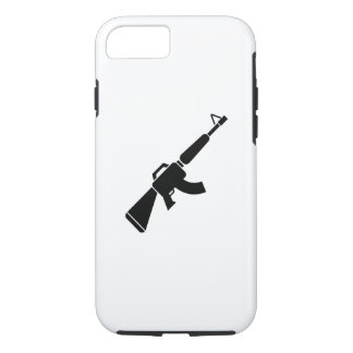 Caso del iPhone 6 del pictograma de AK-47 Funda iPhone 7