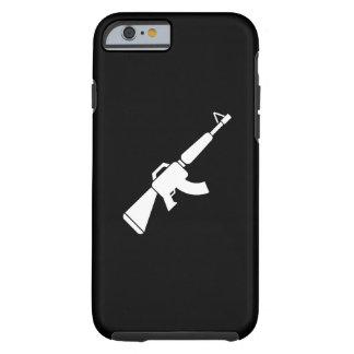 Caso del iPhone 6 del pictograma de AK-47 Funda Resistente iPhone 6