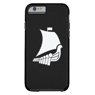 Caso del iPhone 6 del pictograma de la nave de Funda Para iPhone 6 Tough