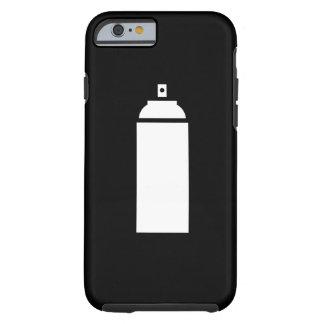 Caso del iPhone 6 del pictograma de la pintura de Funda De iPhone 6 Tough