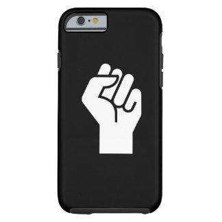Caso del iPhone 6 del pictograma de la protesta Funda De iPhone 6 Tough