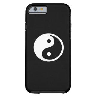 Caso del iPhone 6 del pictograma de Yin Yang Funda Para iPhone 6 Tough