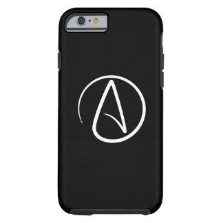 Caso del iPhone 6 del pictograma del ateísmo Funda De iPhone 6 Tough