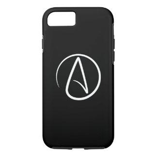Caso del iPhone 6 del pictograma del ateísmo Funda iPhone 7