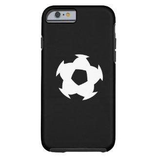 Caso del iPhone 6 del pictograma del balón de Funda Resistente iPhone 6