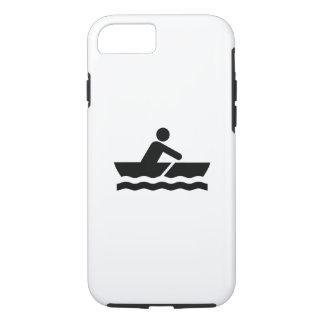 Caso del iPhone 6 del pictograma del canotaje Funda iPhone 7