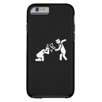 Caso del iPhone 6 del pictograma del club de Billy Funda Para iPhone 6 Tough