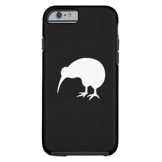 Caso del iPhone 6 del pictograma del kiwi Funda Resistente iPhone 6