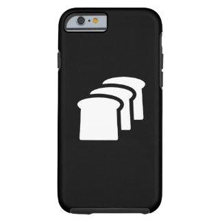 Caso del iPhone 6 del pictograma del pan Funda De iPhone 6 Tough