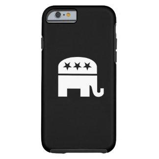 Caso del iPhone 6 del pictograma del Partido Funda De iPhone 6 Tough