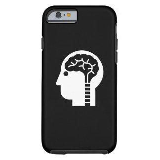 Caso del iPhone 6 del pictograma del poder mental Funda De iPhone 6 Tough