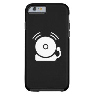 Caso del iPhone 6 del pictograma la alarma de Funda De iPhone 6 Tough