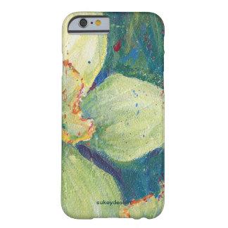 Caso del iPhone 6 del pistacho del narciso