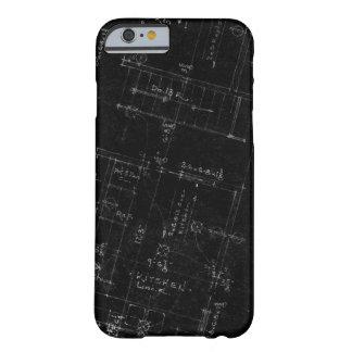 Caso del iPhone 6 del plan de piso del arquitecto Funda Para iPhone 6 Barely There