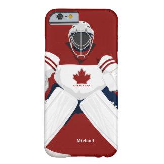 Caso del iPhone 6 del portero del hockey del