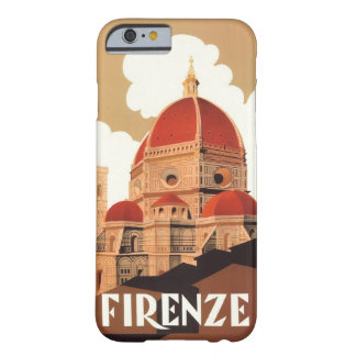 Caso del iPhone 6 del poster de Firenze Funda De iPhone 6 Barely There