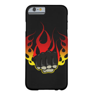 Caso del iPhone 6 del puño del fuego Funda Para iPhone 6 Barely There
