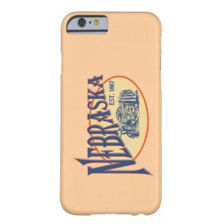 Caso del iPhone 6 del recuerdo de Nebraska Funda Para iPhone 6 Barely There