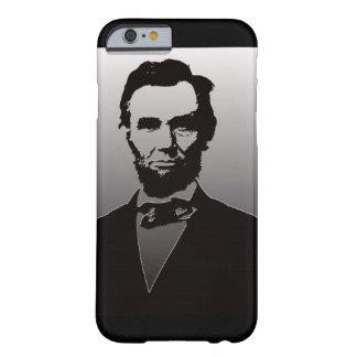 Caso del iPhone 6 del retrato de Abe Lincoln Funda Barely There iPhone 6
