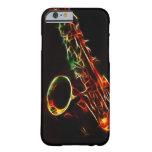 Caso del iPhone 6 del saxofón