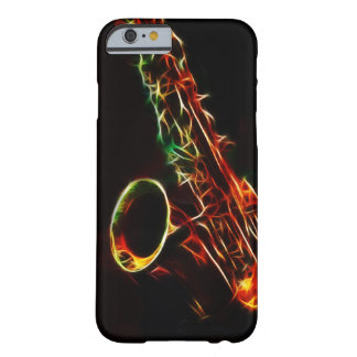 Caso del iPhone 6 del saxofón Funda De iPhone 6 Barely There