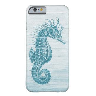 caso del iPhone 6 del seahorse del vintage del Funda Para iPhone 6 Barely There