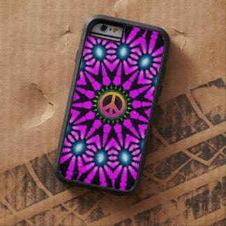 Caso del iPhone 6 del signo de la paz del teñido Funda Para iPhone 6 Tough Xtreme