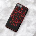 Caso del iPhone 6 del símbolo de la protección del Funda De iPhone 6 Barely There