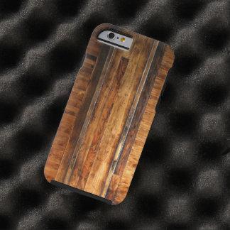 Caso del iPhone 6 del suelo de parqué Funda De iPhone 6 Tough