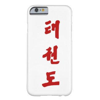 Caso del iPhone 6 del Taekwondo Funda Para iPhone 6 Barely There
