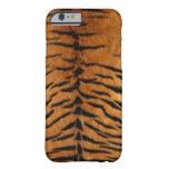 Caso del iPhone 6 del tigre Funda Para iPhone 6 Barely There