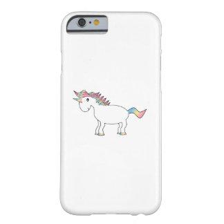 Caso del iPhone 6 del unicornio del arco iris