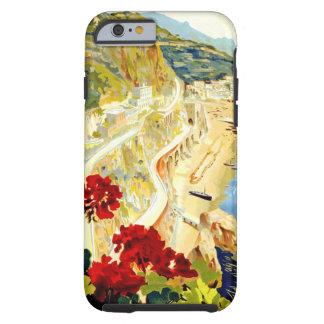 Caso del iPhone 6 del viaje de Amalfi Italia Funda Para iPhone 6 Tough