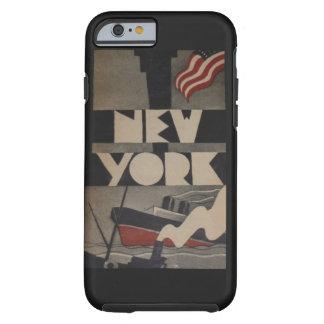 Caso del iPhone 6 del viaje de Nueva York del Funda Resistente iPhone 6