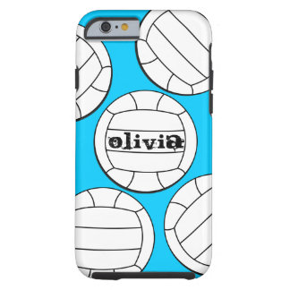 Caso del iPhone 6 del voleibol Funda De iPhone 6 Tough