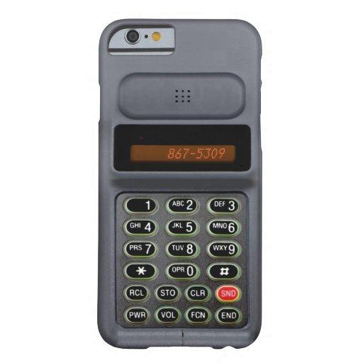 caso del iPhone 6 en el estilo de un mediados de Funda De iPhone 6 Barely There