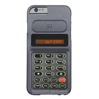 caso del iPhone 6 en el estilo de un mediados de Funda Barely There iPhone 6