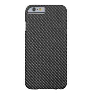 caso del iPhone 6 - fibra de carbono - negro Funda De iPhone 6 Slim