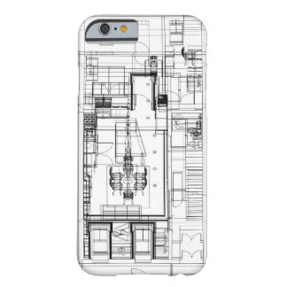 caso del iphone 6 funda barely there iPhone 6