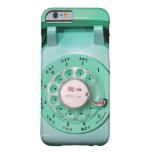 caso del iPhone 6 - llámeme teléfono de dial Funda Barely There iPhone 6