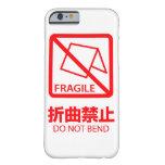 caso del iPhone 6: ¡No doble! Funda De iPhone 6 Barely There