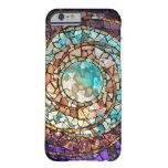 """Caso del iPhone 6 planeta del agua"""" del mosaico Funda De iPhone 6 Barely There"""