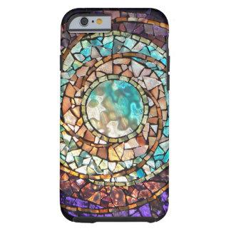 "Caso del iPhone 6 planeta del agua"" del mosaico Funda Para iPhone 6 Tough"