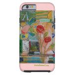caso del iPhone 6 por el arte de Kim Anderson Funda Para iPhone 6 Tough
