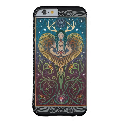 caso del iPhone 6 - Shaman de C. McAllister Funda De iPhone 6 Barely There