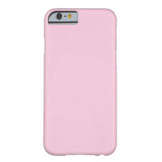 caso del iPhone 6 - sólido - rosa claro Funda De iPhone 6 Barely There
