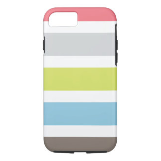 caso del iPhone 7 con las rayas coloridas Funda iPhone 7